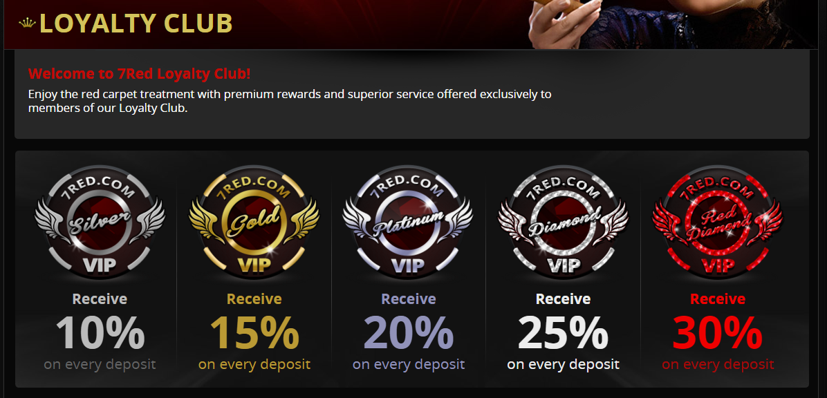 7red loyalty club offers