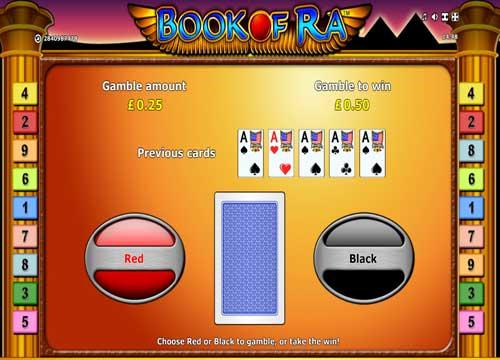 Book of Ra slot gamble - topsyslots review
