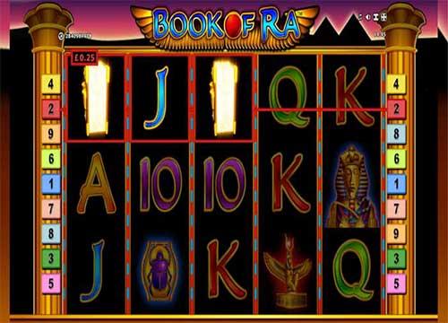 book of ra slot - topsyslots review