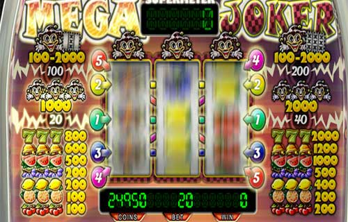 Mega Joker slot supermeter topsyslots review