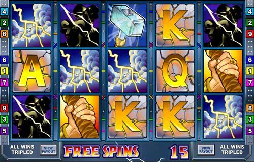 Thunderstruck slot 15 free spins topsyslots