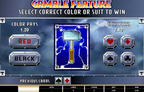 thunderstruck slot gamble feature topsyslots